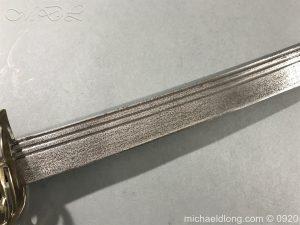 michaeldlong.com 11086 300x225 British Naval Officer's Slotted Hilt Cutlass c 1800