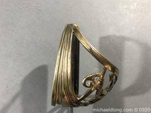 michaeldlong.com 11095 300x225 British Naval Officer's Slotted Hilt Cutlass c 1800