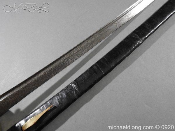michaeldlong.com 11134 600x450 British Model 1842 Brass Hilted Hanger