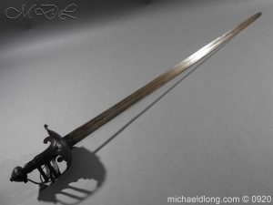 English Mortuary Sword with Honslow Blade