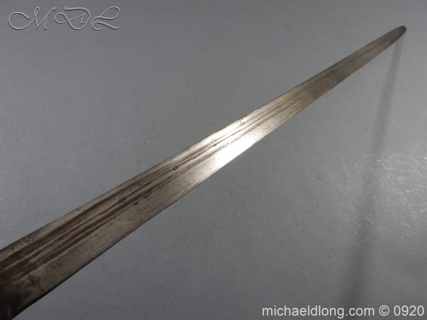 michaeldlong.com 11194 600x450 English Mortuary Sword with Hounslow Blade