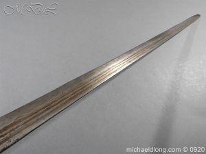 michaeldlong.com 11196 300x225 English Mortuary Sword with Hounslow Blade