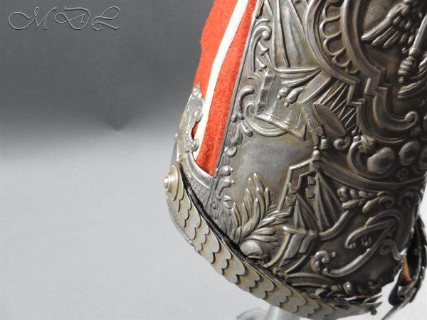 michaeldlong.com 11291 600x450 Prussian Grenadiers Cap 1st Foot Guards 1894 Pattern
