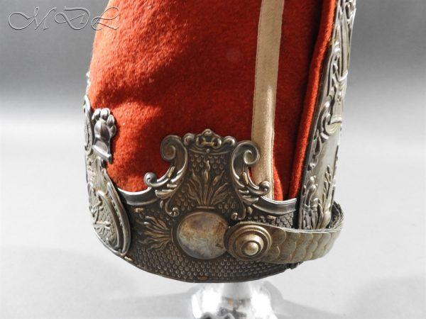 michaeldlong.com 11293 600x450 Prussian Grenadiers Cap 1st Foot Guards 1894 Pattern