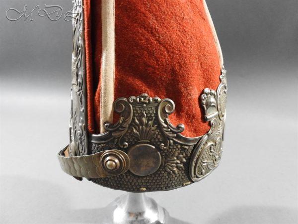 michaeldlong.com 11298 600x450 Prussian Grenadiers Cap 1st Foot Guards 1894 Pattern