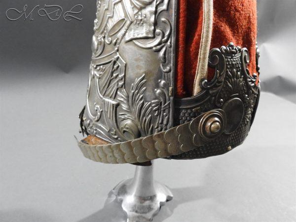 michaeldlong.com 11299 600x450 Prussian Grenadiers Cap 1st Foot Guards 1894 Pattern