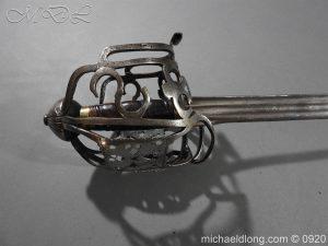 michaeldlong.com 11307 300x225 Scottish Infantry Officer's Back Sword c 1720