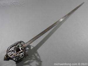 michaeldlong.com 11310 300x225 Scottish Infantry Officer's Back Sword c 1720