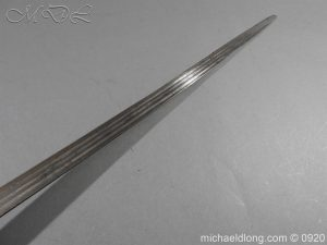 michaeldlong.com 11313 300x225 Scottish Infantry Officer's Back Sword c 1720