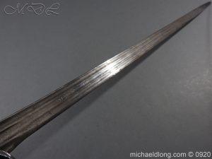michaeldlong.com 11316 300x225 Scottish Infantry Officer's Back Sword c 1720