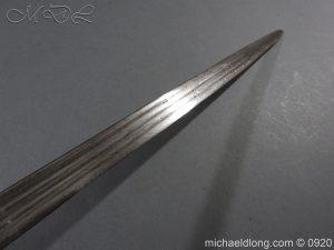 michaeldlong.com 11317 300x225 Scottish Infantry Officer's Back Sword c 1720