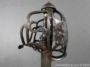 michaeldlong.com 11319 300x225 Scottish Infantry Officer's Back Sword c 1720