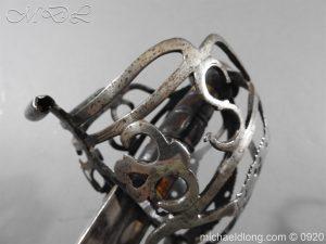 michaeldlong.com 11330 300x225 Scottish Infantry Officer's Back Sword c 1720