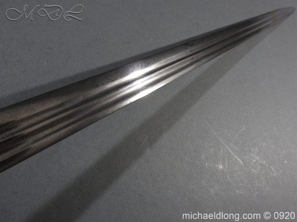 michaeldlong.com 11345 600x450 English Dragoon Officer's Basket Hilted Sword c 1740