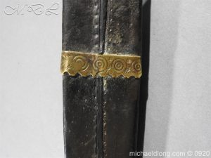 michaeldlong.com 11407 300x225 Scottish Dirk Engraved SCHOTLAND NO UNION Dated 1703