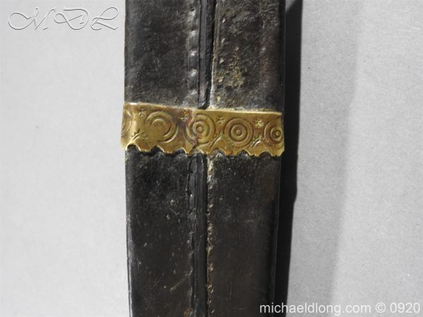 michaeldlong.com 11407 600x450 Scottish Dirk Engraved SCHOTLAND NO UNION Dated 1703