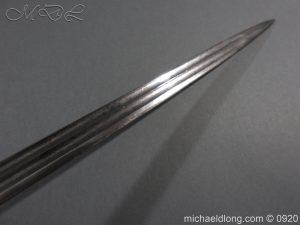 michaeldlong.com 11456 300x225 Imperial German Model 1889 Infantry Officer's Sword Damascus Blade
