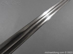 michaeldlong.com 11459 300x225 Imperial German Model 1889 Infantry Officer's Sword Damascus Blade