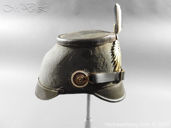 michaeldlong.com 11475 600x450 Imperial German East Asian Expeditionary Corps Shako
