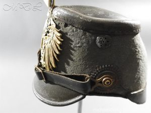 michaeldlong.com 11480 300x225 Imperial German East Asian Expeditionary Corps Shako