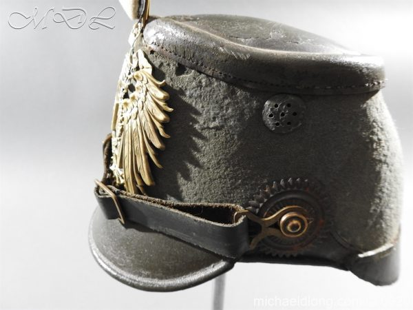 michaeldlong.com 11480 600x450 Imperial German East Asian Expeditionary Corps Shako