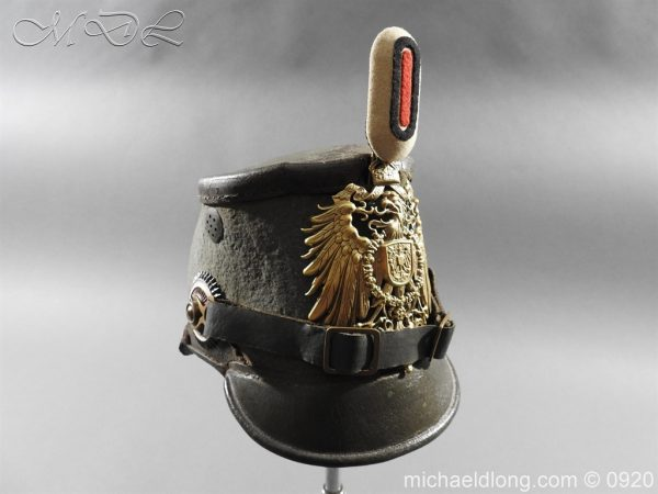 michaeldlong.com 11483 600x450 Imperial German East Asian Expeditionary Corps Shako