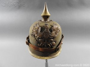 Imperial German Infantry Pickelhaube