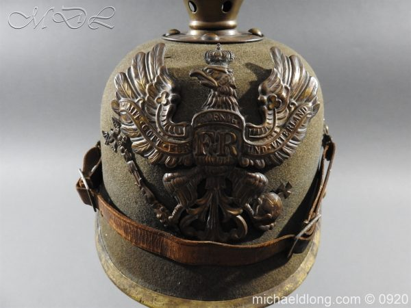michaeldlong.com 11508 600x450 Imperial German Infantry Pickelhaube