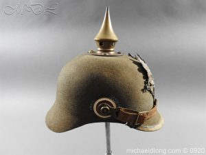 michaeldlong.com 11510 300x225 Imperial German Infantry Pickelhaube