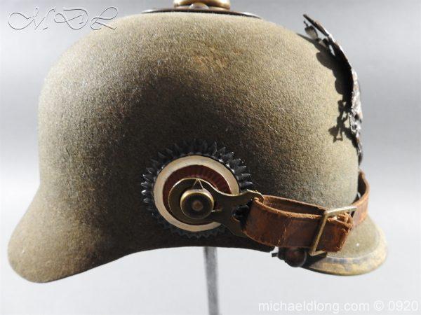 michaeldlong.com 11511 600x450 Imperial German Infantry Pickelhaube