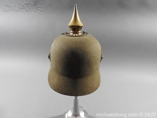 michaeldlong.com 11513 600x450 Imperial German Infantry Pickelhaube