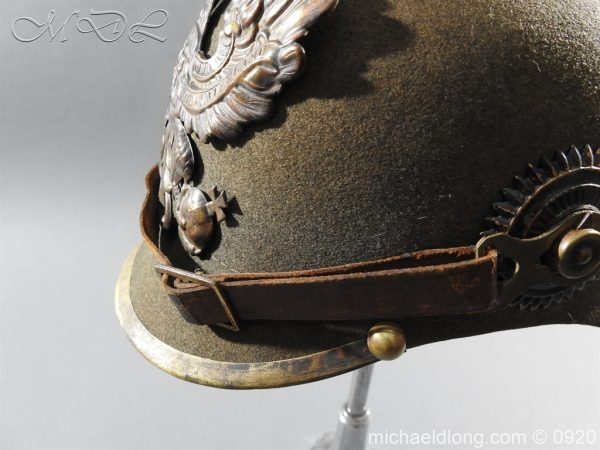michaeldlong.com 11518 600x450 Imperial German Infantry Pickelhaube