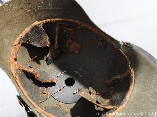 michaeldlong.com 11519 600x450 Imperial German Infantry Pickelhaube