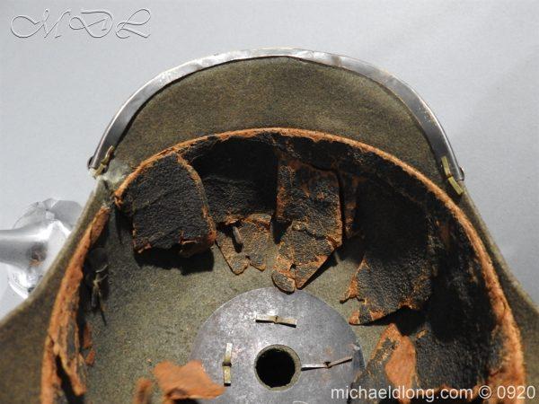 michaeldlong.com 11521 600x450 Imperial German Infantry Pickelhaube