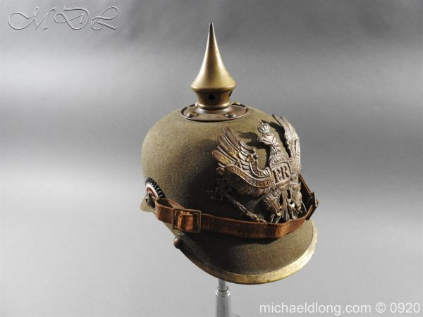michaeldlong.com 11522 600x450 Imperial German Infantry Pickelhaube