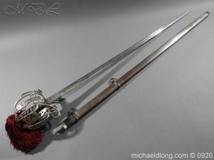 Gordon Highlanders Victorian Officer's Sword