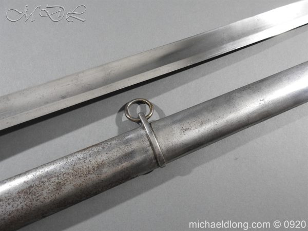 michaeldlong.com 11568 600x450 1796 Heavy Cavalry Disk Hilt Troopers Sword by Osborn and Gunby