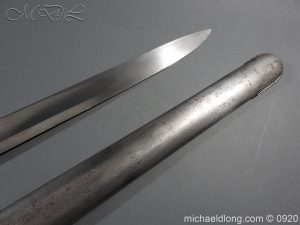 michaeldlong.com 11569 300x225 1796 Heavy Cavalry Disk Hilt Troopers Sword by Osborn and Gunby