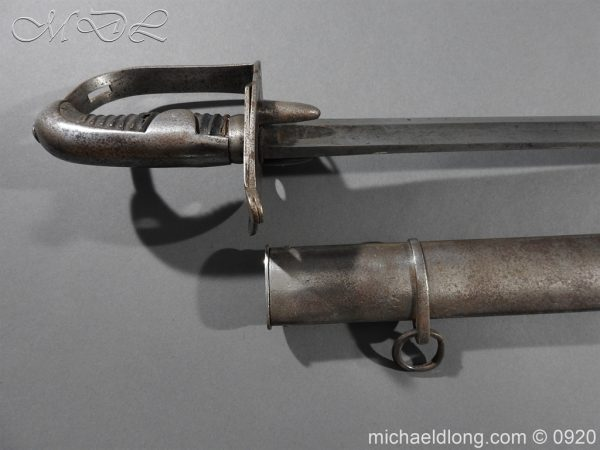 michaeldlong.com 11571 600x450 1796 Heavy Cavalry Disk Hilt Troopers Sword by Osborn and Gunby