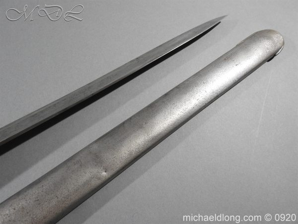 michaeldlong.com 11573 600x450 1796 Heavy Cavalry Disk Hilt Troopers Sword by Osborn and Gunby