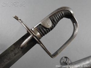 michaeldlong.com 11586 1 300x225 1796 Heavy Cavalry Disk Hilt Troopers Sword by Osborn and Gunby