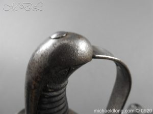 michaeldlong.com 11588 1 300x225 1796 Heavy Cavalry Disk Hilt Troopers Sword by Osborn and Gunby