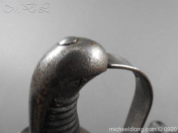 michaeldlong.com 11588 1 600x450 1796 Heavy Cavalry Disk Hilt Troopers Sword by Osborn and Gunby