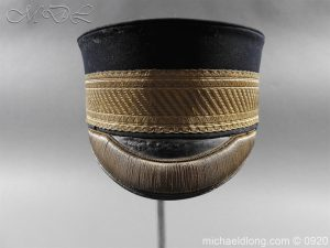 michaeldlong.com 11628 300x225 British Victorian Staff Officer's Peaked Forage Cap