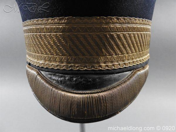 michaeldlong.com 11629 600x450 British Victorian Staff Officer's Peaked Forage Cap