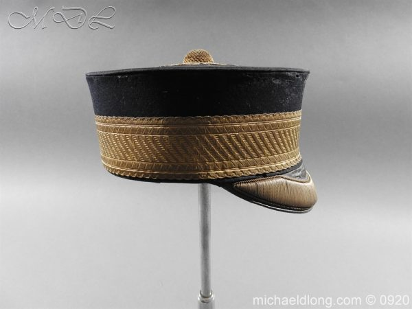 michaeldlong.com 11630 600x450 British Victorian Staff Officer's Peaked Forage Cap