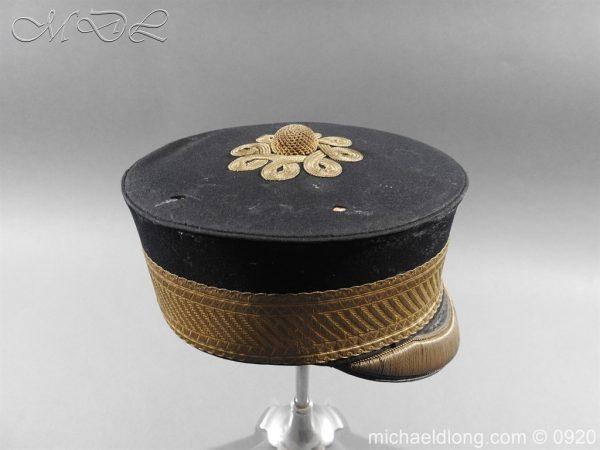 michaeldlong.com 11631 600x450 British Victorian Staff Officer's Peaked Forage Cap