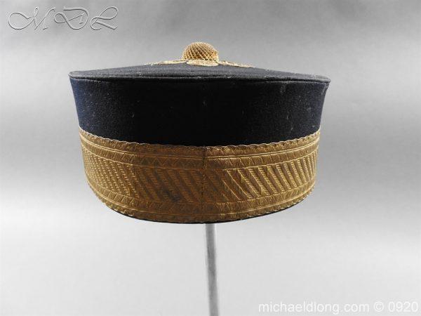 michaeldlong.com 11632 600x450 British Victorian Staff Officer's Peaked Forage Cap