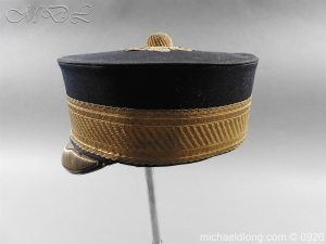 michaeldlong.com 11633 300x225 British Victorian Staff Officer's Peaked Forage Cap