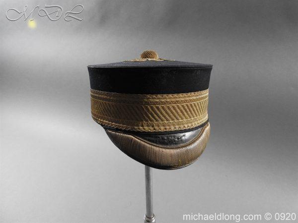 michaeldlong.com 11636 600x450 British Victorian Staff Officer's Peaked Forage Cap
